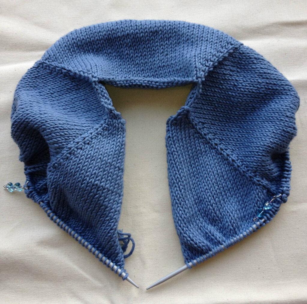 Knitting Top Down : Uk hand knitting association