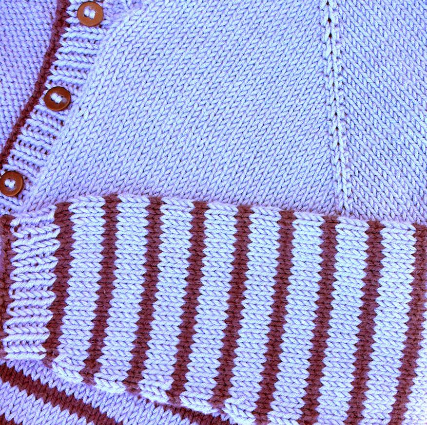 Blue Cardi close up2