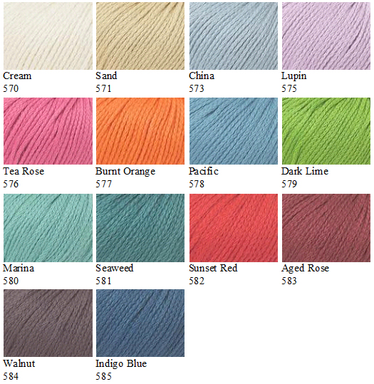 Softknit Cotton Colours
