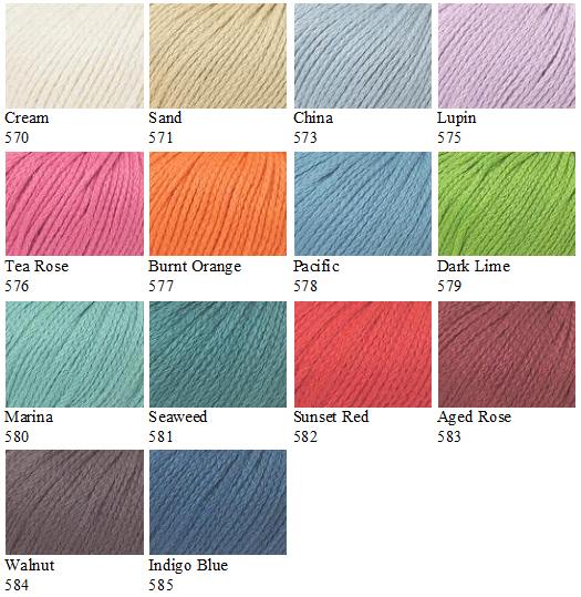 Softknit Cotton Colours