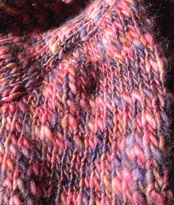 Knitting Pattern For Thick And Thin Yarn : Rowan Thick n Thin review: avoid pooling variegated yarns Knittin...