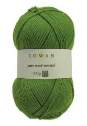 Pure Wool Worsted yarn ball
