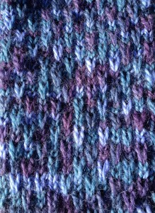 Fine Art Aran slip stitch