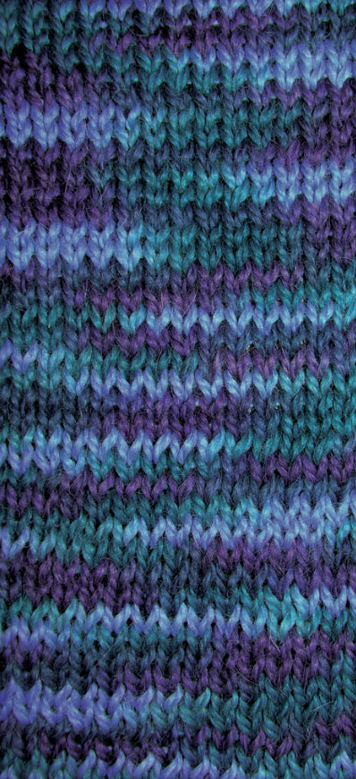 FAA Jagged Knitted Swatch