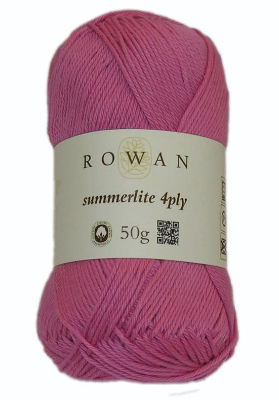 Summerlite 4ply in shade Pinched Pink 426