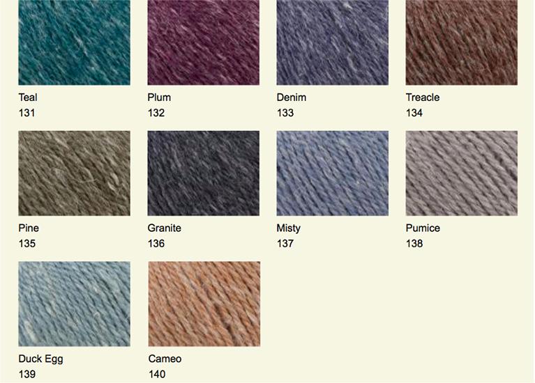 Hemp Tweed shades