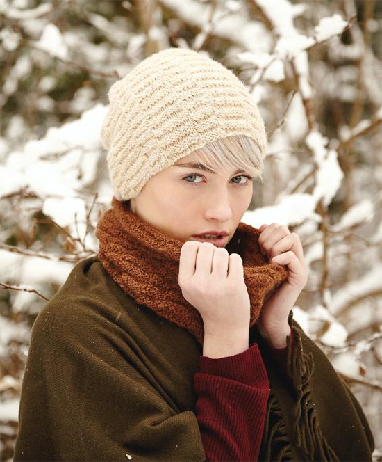Wheatland Hat and Cowl