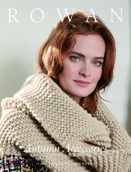 Autumn Accessories cover showing Clove Loop Scarf