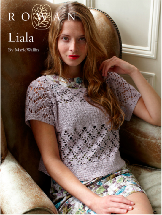 Liala, designed by Marie Wallin and crocheted in Rowan Panama
