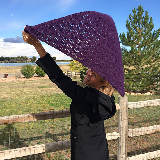 Xale Shawl by Esther Hartley