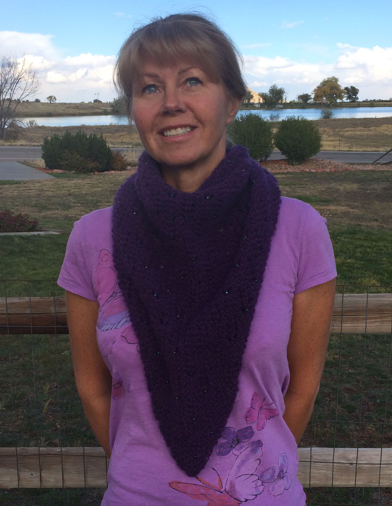 Xale Scarf front view