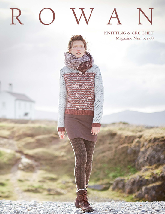 Rowan Knitting & Crochet Magazine 60 cover Image