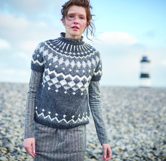 Nyla sweater in Rowan Cocoon