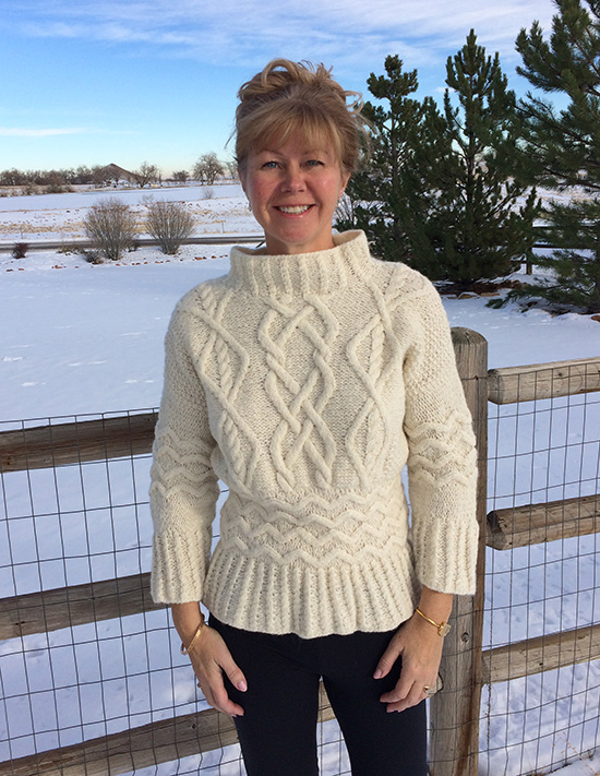 Rowan Wintery in Brushed Fleece by Marie Walin