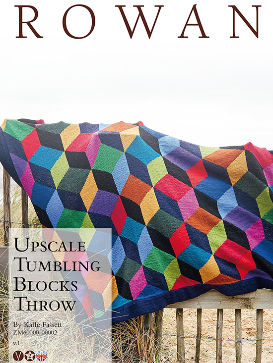 Upscale Tumbling Blocks Throw webcov