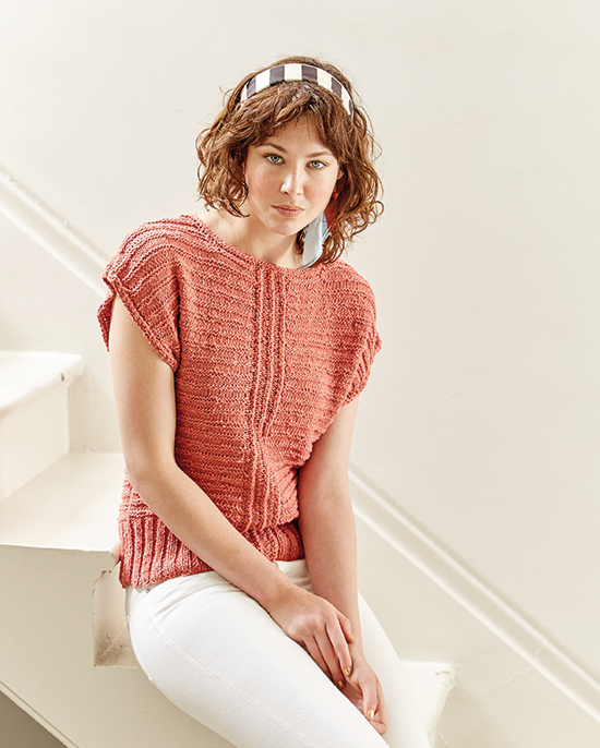 Campana: A cute summer top by Sarah Hatton