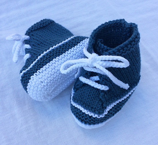 Knitted Baby Bootie Sneakers