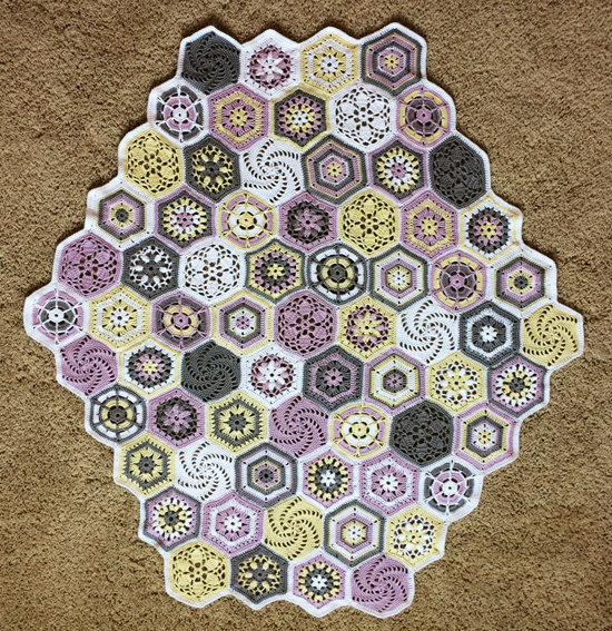 Lisa Richardson Crochet Along 2015 Baby Blanket