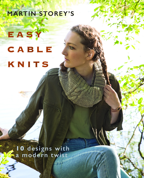 Martin Storey's Easy Cable Knits Front Cover