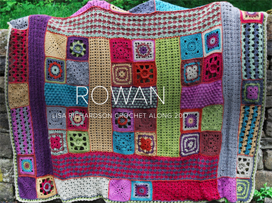 Rowan Crochet Along 2017 blanket