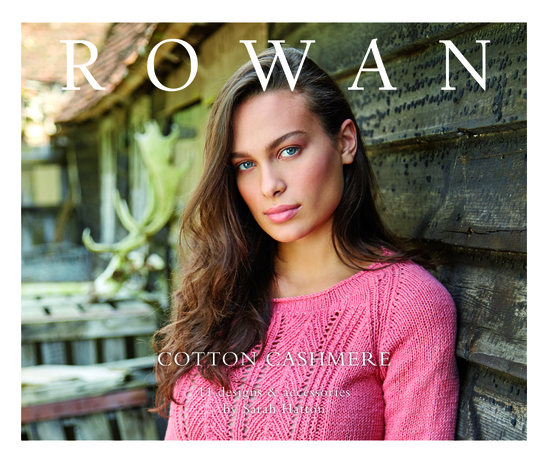 Rowan Cotton Cashmere Pattern Book Front Cover