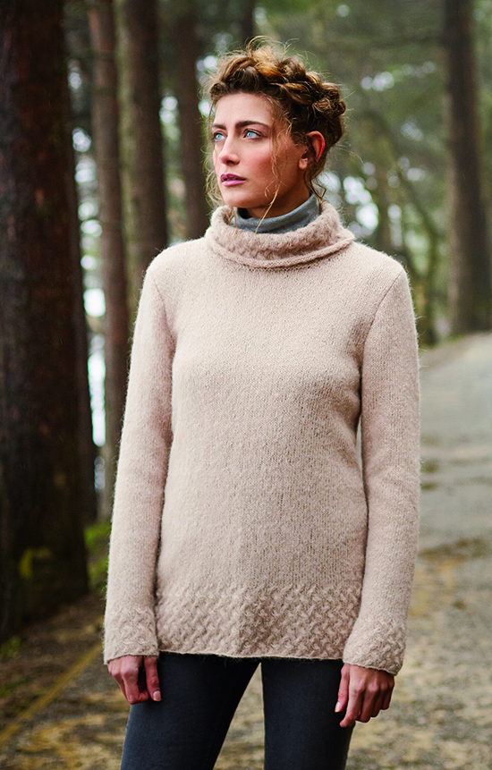 Hensting designed by Lisa Richardson using Alpaca Classic