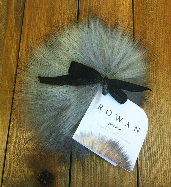 Rowan Pom pom with Ribbon