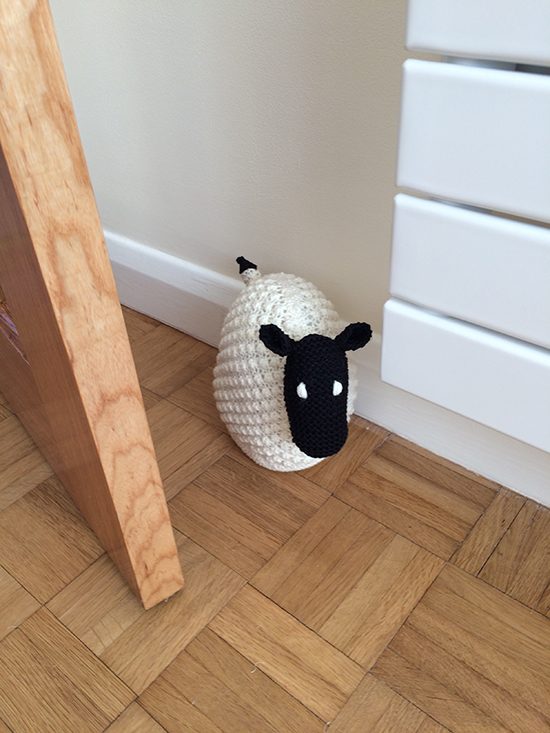 Sheep Doorstop Image