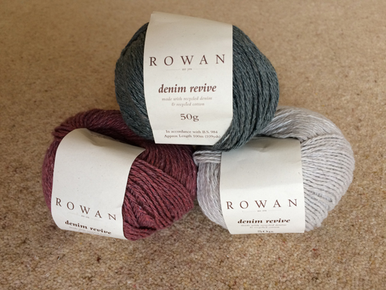 Rowan Yarns Denim Revive