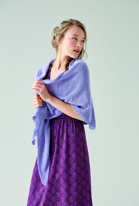 Rowan Yarns Shawl Georgette in Silky Lace