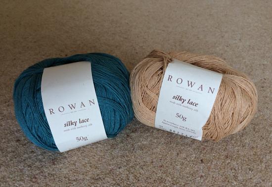 Rowan Yarns Silky Lace