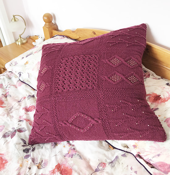 Martin Storey KAL Cushion