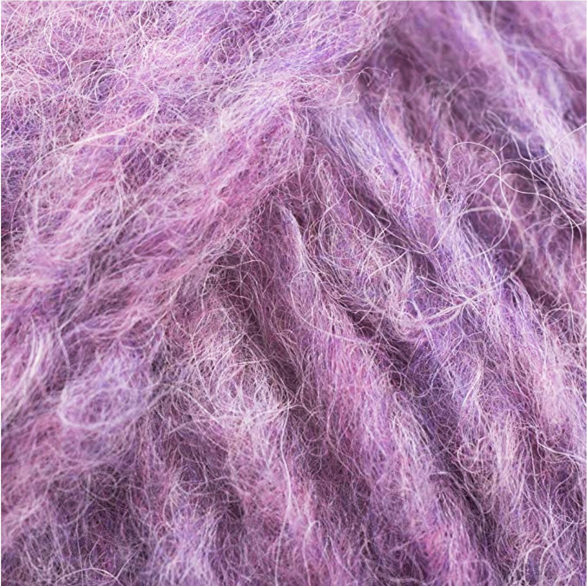 Brushed Fleece in Heather