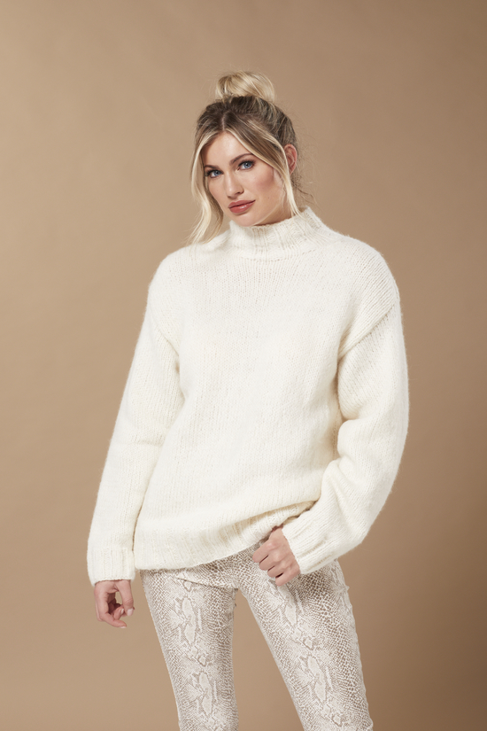 Polar in Brushed Fleece by Quail Studio