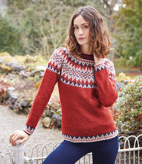 Rowan Kellie Jumper Side View