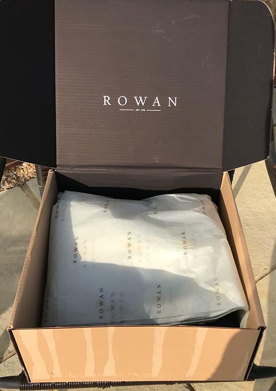 Rowan Yarns Box
